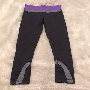 Lululemon Run Inspire Crop Leggings size 6
